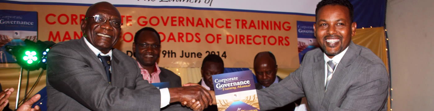 Corporate Governance Training Manual for Board of Directors